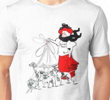 The Dog Lady Unisex T-Shirt