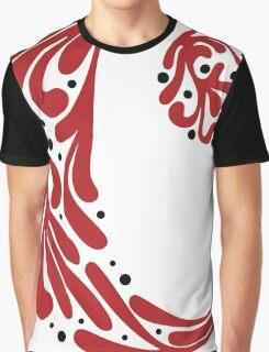 """C"" ~ Red & Black Graphic T-Shirt"