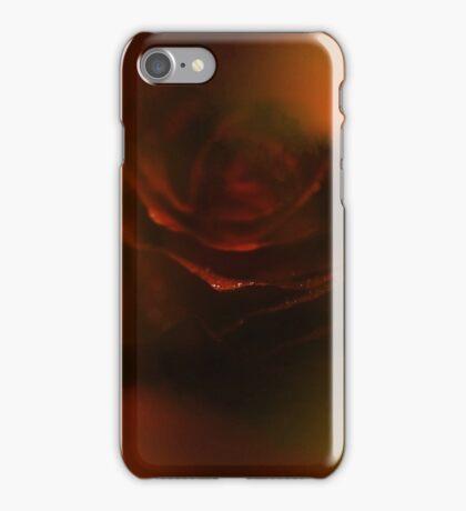 fire rose002 iPhone Case/Skin