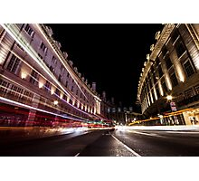 Regent Street Rush Photographic Print