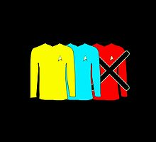 Minimalism - The Red Shirt Blues by SpaceHeroStudio
