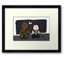 Young Pilots Framed Print