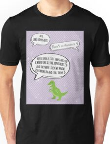Jesus stole the dinosaurs Unisex T-Shirt