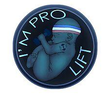 I'm Pro Lift Photographic Print