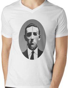 Dreaming Cthulhu Mens V-Neck T-Shirt