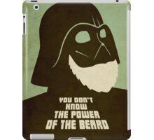 Beard Vader iPad Case/Skin