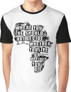Where You Live - Africa (white) Graphic T-Shirt