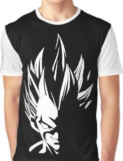 Vegeta Stencil Graphic T-Shirt
