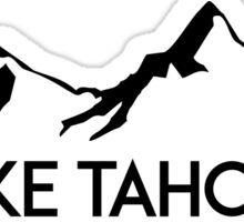 LAKE TAHOE CALIFORNIA Mountain Skiing Ski Snowboard Snowboarding 3 Sticker
