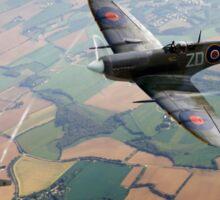 Spitfire victory Sticker