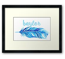 Baylor University Framed Print