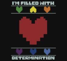 Determination. One Piece - Short Sleeve