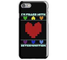 Determination. iPhone Case/Skin