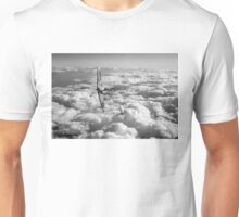 Spitfires turning in, black and white version Unisex T-Shirt