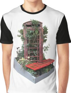 Phone Box Takeover Graphic T-Shirt