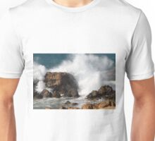 Waves on the rocks - 0136692 Unisex T-Shirt