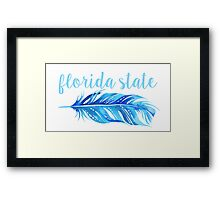 Florida State University Framed Print