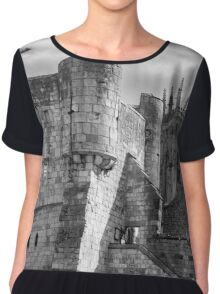 York Minster and Bootham Bar Chiffon Top