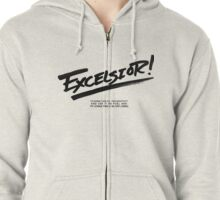 Excelsior! Zipped Hoodie