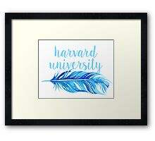 Harvard University Framed Print