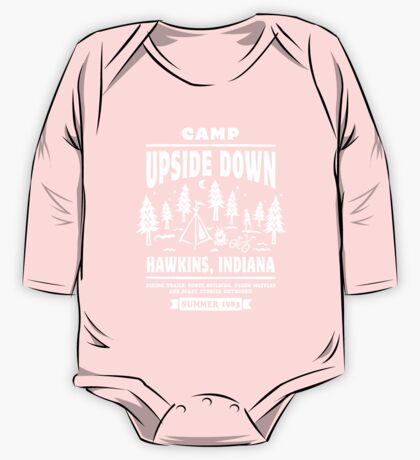 Camp Upside Down One Piece - Long Sleeve