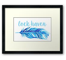 Lock Haven University Framed Print