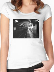 Point of no return Women's Fitted Scoop T-Shirt