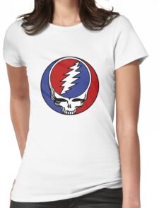 Gtrateful Dead - Steal Your Face Womens Fitted T-Shirt