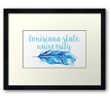 Louisiana State University Framed Print