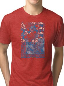 Butterfly Collage Tri-blend T-Shirt