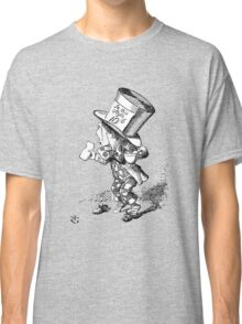 The Mad Hatter Alice in Wonderland Classic T-Shirt