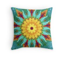 From Sunflowers to Stars #5 Throw Pillow