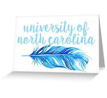 University of North Carolina Greeting Card