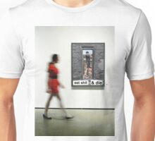 brooklyn cleaner (in second museum) Unisex T-Shirt