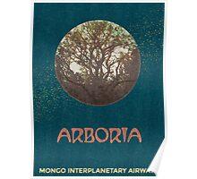 Arboria (Flash Gordon Series) Poster
