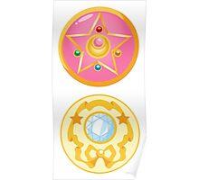 Sailor Moon Brooch - Moon Prism Power Poster