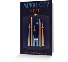 Mingo City (Flash Gordon Series) Greeting Card