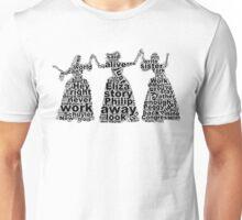Schuyler Sisters (Black) Unisex T-Shirt