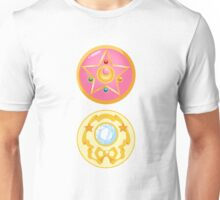 Sailor Moon Brooch - Moon Prism Power Unisex T-Shirt