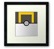 Pokemon Ultraball Framed Print