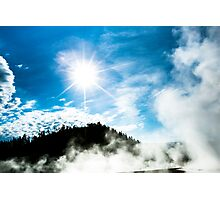 Geysers at Yellowstone Photographic Print