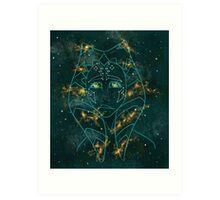 Galaxy 'Soka Art Print