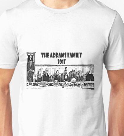 famille addams 2017 Unisex T-Shirt