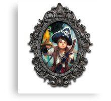 The Pirat Kid Canvas Print