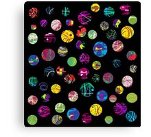 Playful balls Canvas Print