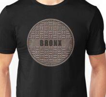 NYC Manhole Lid: Bronx Unisex T-Shirt