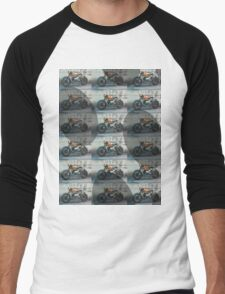 moto Men's Baseball ¾ T-Shirt