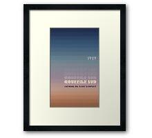 Courrier Sud Framed Print