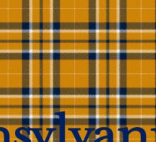 Yellow Flannel Pennsylvania Decal (PA) Sticker