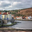Staithes North Yorkshire by Lynn Bolt